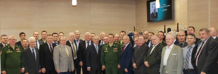 Встреча ветеранов на 113 лет РЭБ